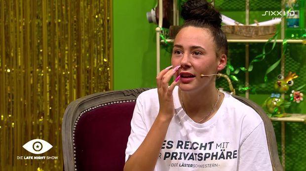 Wer ist raus?-Interview mit Alessia Herren - Promi Big Brother 2020