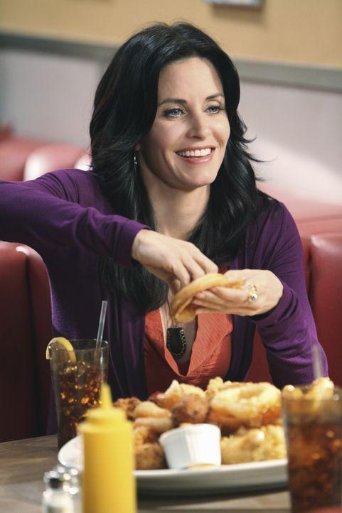 Essen hilft Jules (Courteney Cox) über ihren Liebeskummer hinweg ... - Bildquelle: 2009 ABC INC.