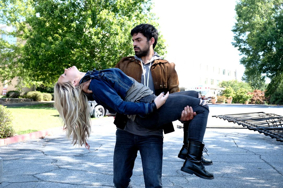Marcos (Sean Teale, hinten); Lauren (Natalie Alyn Lind, vorne) - Bildquelle: 2018-2019 Fox and its related entities.  All rights reserved.  MARVEL TM &   2017 MARVEL