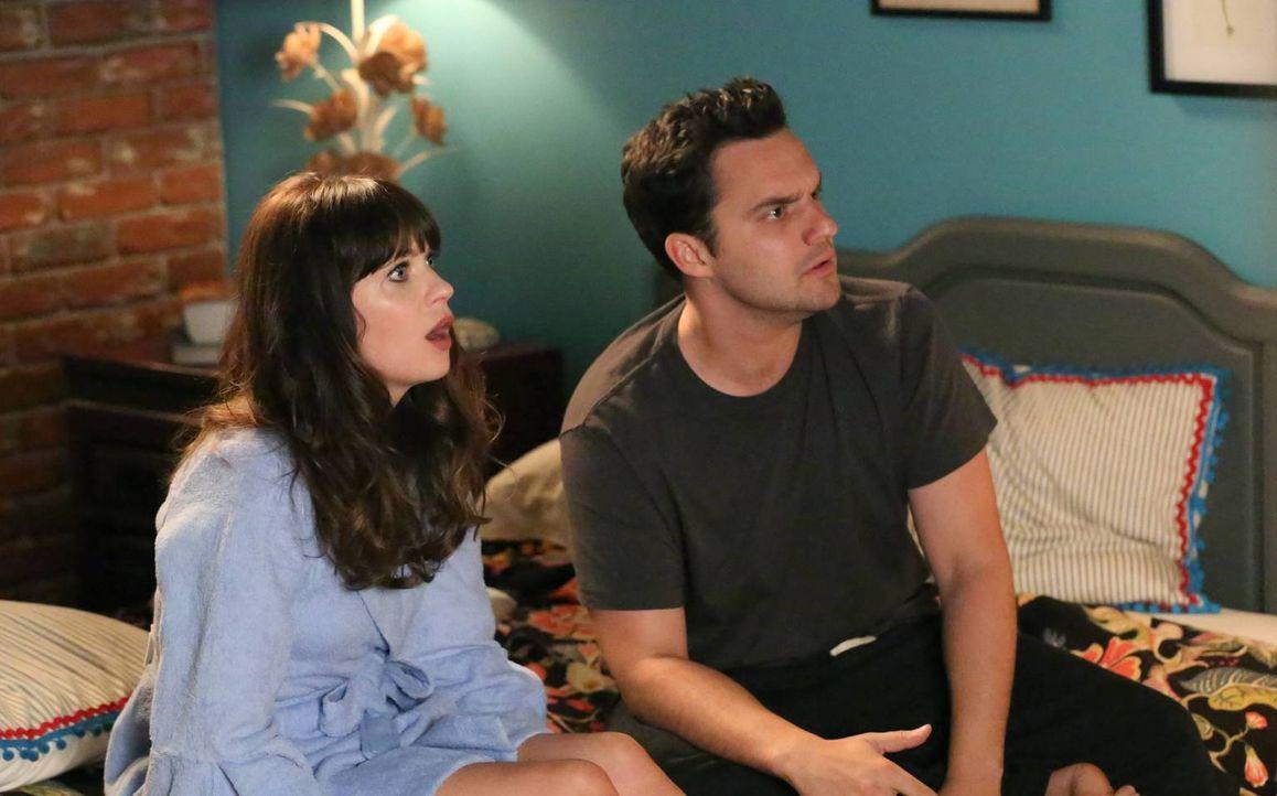 Das Sexleben zwischen Nick (Jake Johnson, r.) und Jess (Zooey Deschanel, l.) läuft spitze, wenn da nicht immer diese Gespräche über die Gefühle des... - Bildquelle: TM &   2013 Fox and its related entities. All rights reserved.
