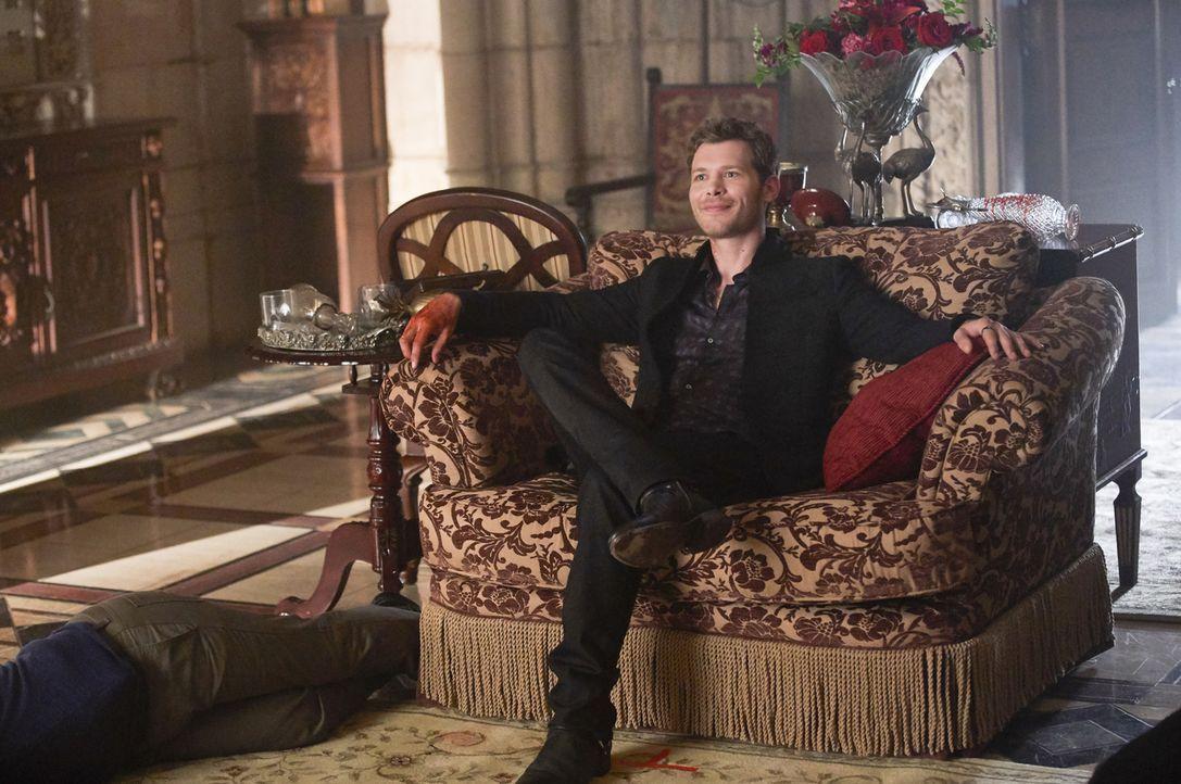 Die Trennung von seinen Geschwistern und vor allem von Elija setzt Klaus (Joseph Morgan) gewaltig zu und führt ihn schließlich zu einer Mördertour d... - Bildquelle: Warner Bros.
