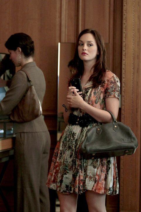 Versucht Chucks neugefundenes Glück zu zerstören: Blair (Leighton Meester) ... - Bildquelle: Warner Bros. Television