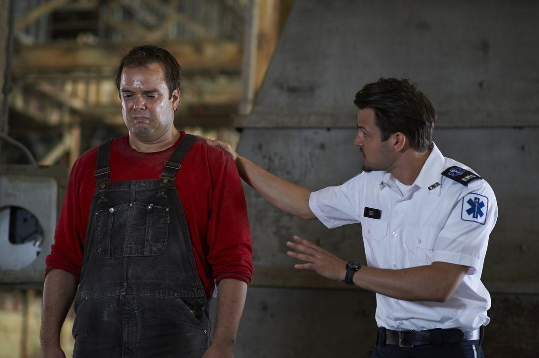 Noch ahnt Luke (Tyler Hynes, r.) nicht, was Craig (Jameson Kraemer, l.) plant ... - Bildquelle: 2013  Hope Zee Two Inc.