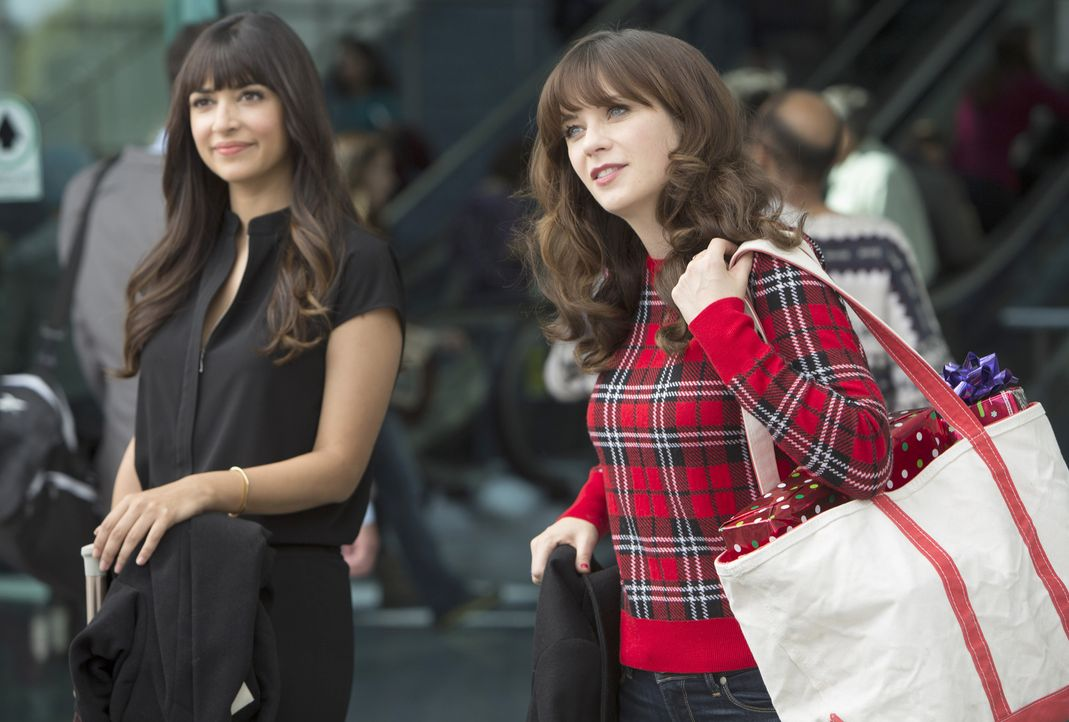 Für Cece (Hannah Simone, l.) und Jess (Zooey Deschanel, r.) werden die Weihnachtsfeiertage anders, als erwartet ... - Bildquelle: 2014 Twentieth Century Fox Film Corporation. All rights reserved.