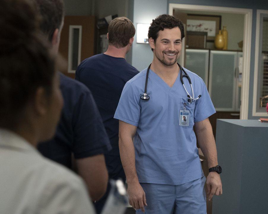 Dr. Andrew DeLuca (Giacomo Gianniotti) - Bildquelle: Eric McCandless ABC Studios / Eric McCandless