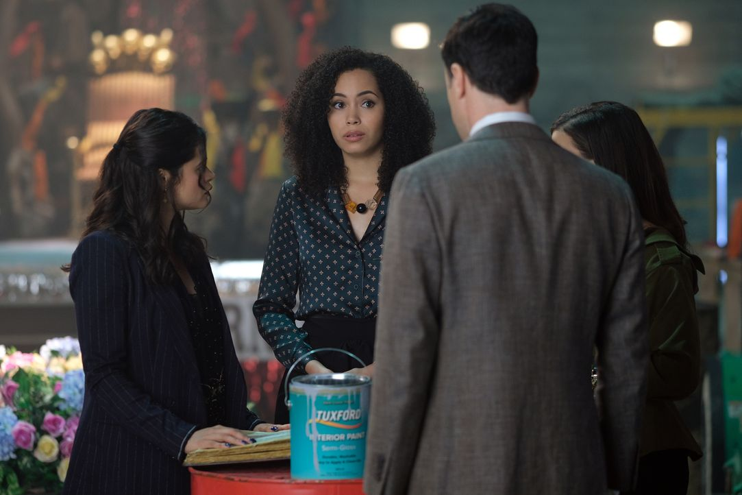 Macy Vaughn (Madeleine Mantock) - Bildquelle: Robert Falconer 2018 The CW Network, LLC. All Rights Reserved. / Robert Falconer