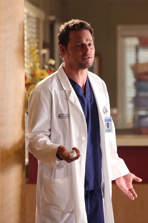 Noch immer sitzt der Schock tief: Alex (Justin Chambers) ... - Bildquelle: ABC Studios