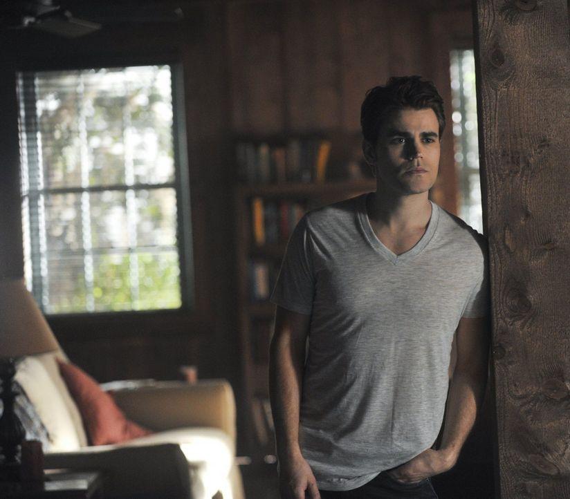 Während Stefan (Paul Wesley) sich in Savannah ein neues Leben aufbaut, wagt Elena einen drastischen Schritt ... - Bildquelle: Warner Bros. Entertainment, Inc
