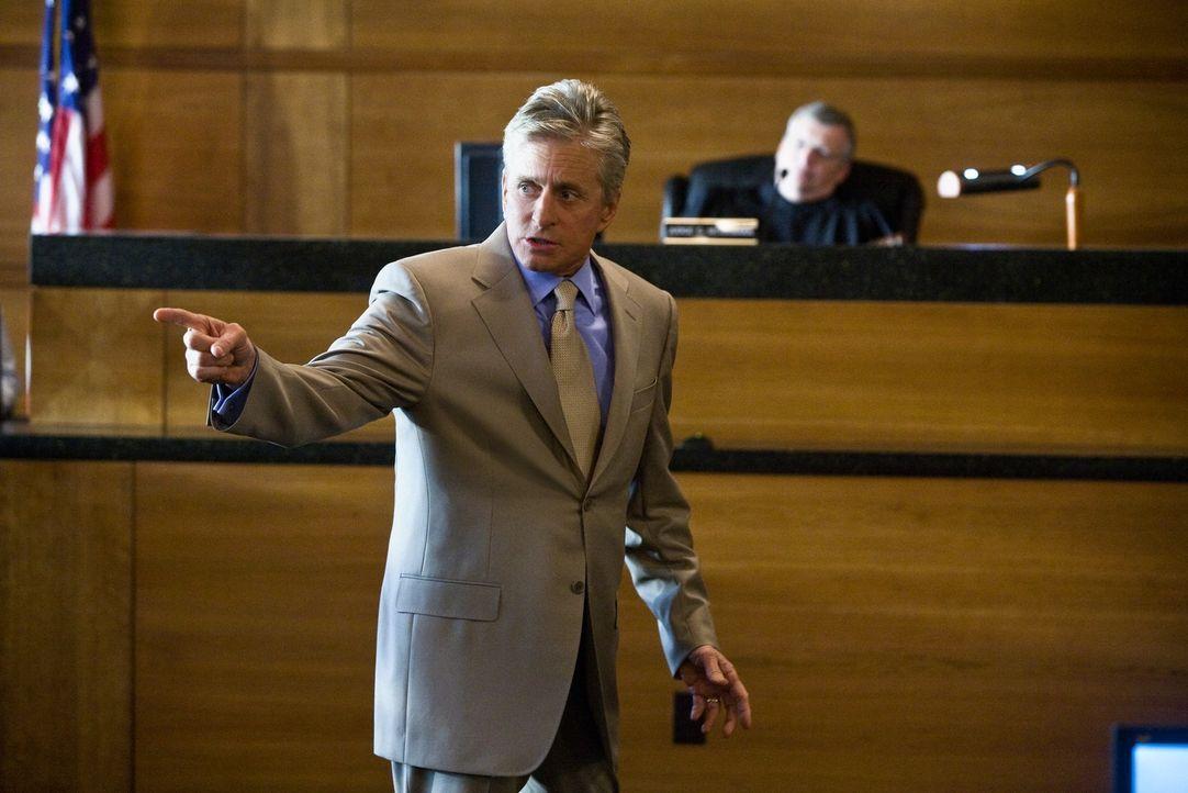 Bezirksstaatsanwalt Mark Hunter (Michael Douglas) versteht es einen Fall nach dem anderen für sich zu gewinnen. Doch geht es bei seinen Prozesse tat... - Bildquelle: Rico Torres Signature Pictures / Foresight-Unlimited BARD 2008. All rights reserved.