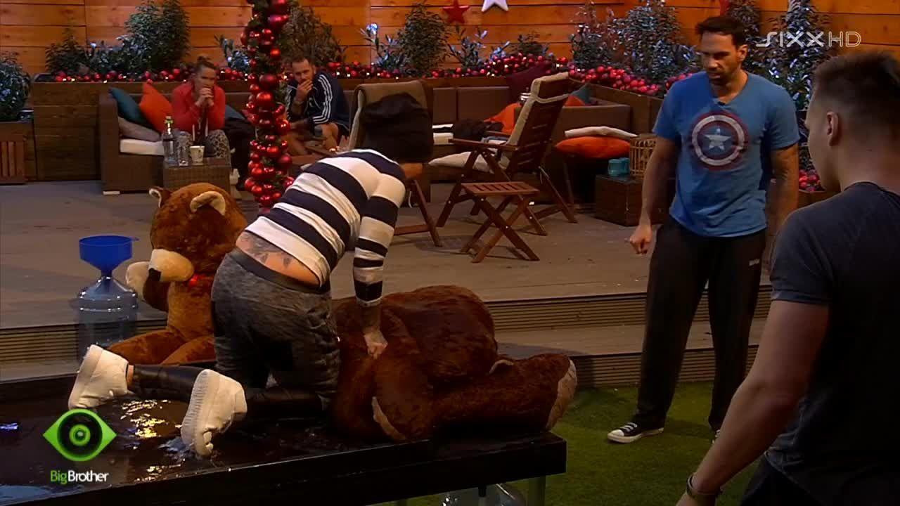 Lusy kämpft mit dem Bären - Bildquelle: sixx