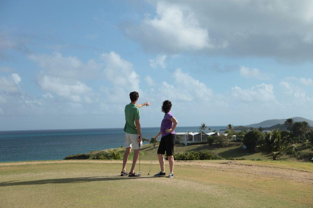 Die Karibik hat es Jay (l.) und Barbara (r.) angetan. Nachdem sie auf St. Croix bereits geheiratet haben, wollen sie sich hier ein zweites Zuhause a... - Bildquelle: 2014, HGTV/Scripps Networks, LLC. All Rights Reserved.