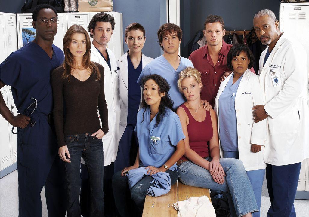 (2. Staffel) - Die Belegschaft des Seattle Grace Hospitals muss täglich mit neuen Überraschungen rechnen: (v.l.n.r.) Dr. Preston Burke (Isaiah Washi... - Bildquelle: Touchstone Television