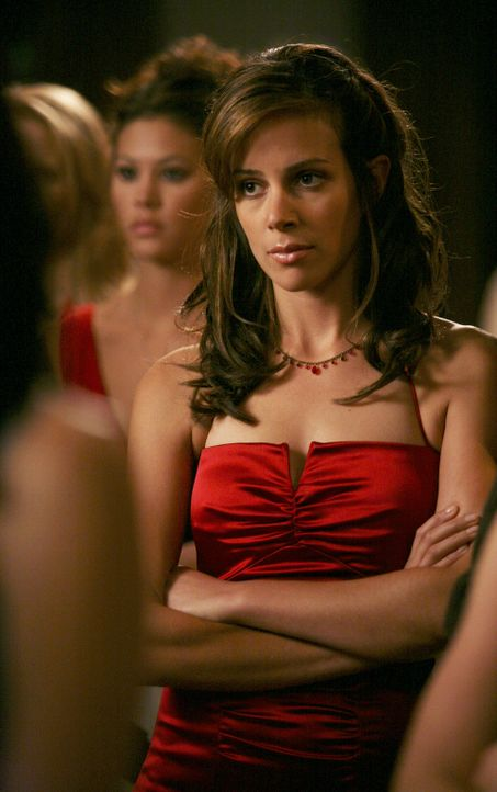 Die Wahl zum Omega Chi Liebling steht an. Wird Frannie (Tiffany Dupont) das Rennen machen? - Bildquelle: 2007 ABC FAMILY. All rights reserved. NO ARCHIVING. NO RESALE.