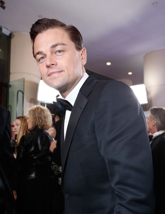 Leonardo DiCaprio bei den Golden Globes 2013 - Bildquelle: AFP