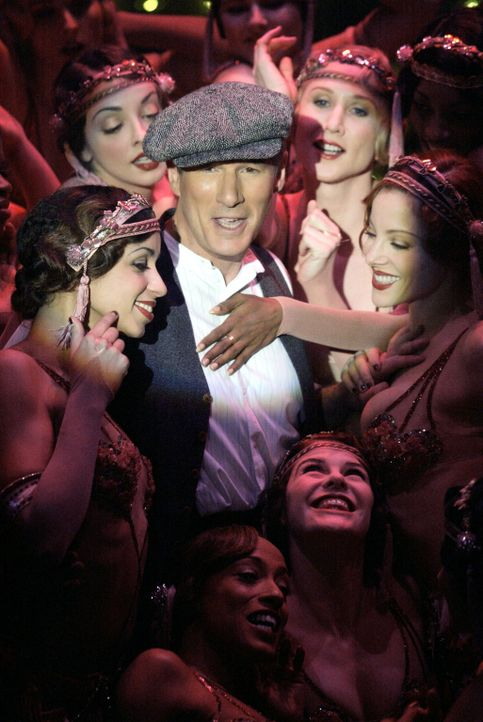 Die Mandantinnen des publicitysüchtigen Strafverteidiger Billy Flynn (Richard Gere) sind stets karrieregeile, hübsch anzusehende Mädchen, die ihn... - Bildquelle: Miramax Films