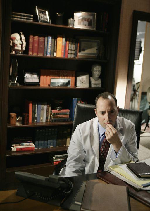 Dr. Andy Adams (Tony Hale), Samanthas Neurologe, hinterlässt auf dem Anrufbeantworter eine sehr beunruhigende Nachricht ... - Bildquelle: American Broadcasting Companies, Inc. All rights reserved.