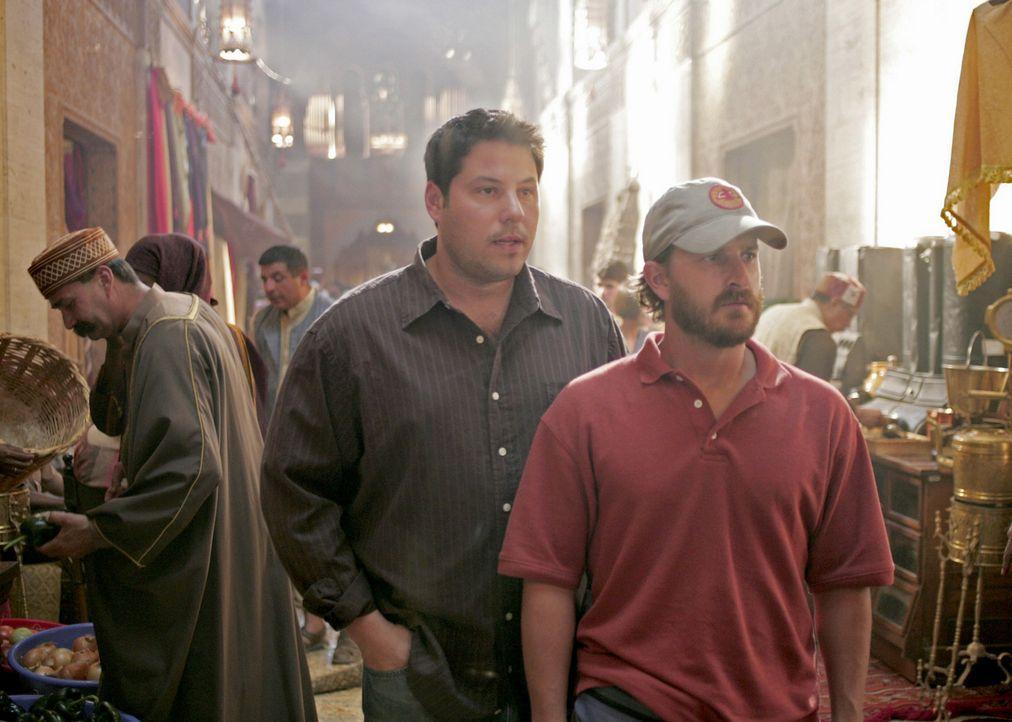 Auf einem Markt in Algerien trifft sich Sydney mit Derek Modell (Richard Speight Jr., r.), einem Mann, der aus finanziellen Gründen eine biologisch... - Bildquelle: Touchstone Television