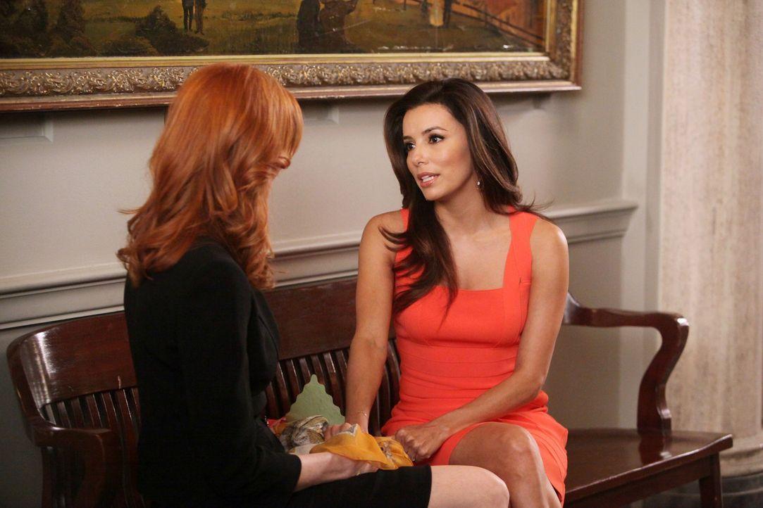 Hat ihre Freundschaft noch eine Chance? Bree (Marcia Cross, l.) und Gabrielle (Eva Longoria, r.) ... - Bildquelle: ABC Studios
