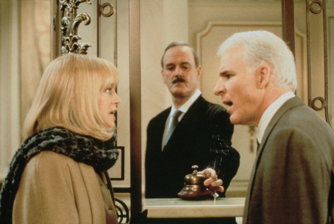 Das Sahnehäubchen: Henrys (Steve Martin, r.) und Nancys (Goldie Hawn, l.) Hotelzimmer ist bereits vergeben ... - Bildquelle: United International Pictures