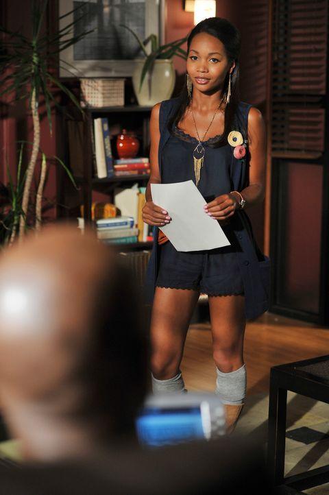 """Jodie (Kimberly Kevon Williams) ist die neue Rezeptionistin des """"Oceanside Wellness"""" ... - Bildquelle: ABC Studios"""