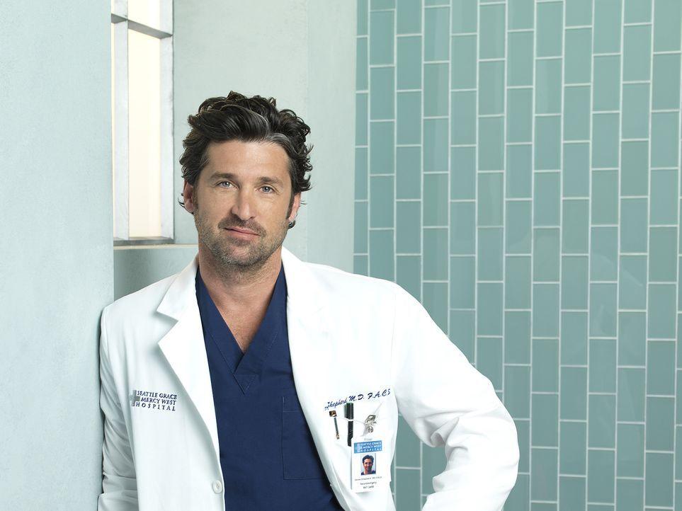 (7. Staffel) - Nicht nur beruflich, sondern auch privat läuft nicht immer alles nach Plan: Dr. Derek Shepherd (Patrick Dempsey) ... - Bildquelle: ABC Studios