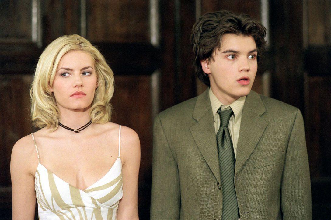 Matthew Kidman (Emiel Hirsch, r.) ist der Überflieger seiner Schule und der Stolz seiner Eltern. Doch dann verliebt er sich in die hübsche und ver... - Bildquelle: 2004 by Epsilon Motion Pictures
