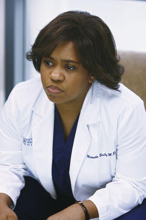 Webber nimmt ihr eine sehr wichtige Operation weg, um allen zu beweisen, dass er fit genug ist, um zu operieren: Bailey (Chandra Wilson) ... - Bildquelle: Touchstone Television