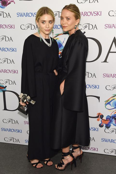 Mary-Kate_Ashley_Olsen_2014 - Bildquelle:  Larry Busacca/Getty Images/AFP