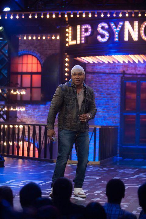 Wer glaubt Playback-Singen wäre langweilig, wird bei LIP SYNC BATTLE eines Besseren belehrt: LL Cool J lässt bekannte Amerikanische Stars gegeneinan... - Bildquelle: Scott Gries Spike TV/Viacom