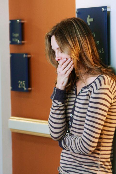 Kitty (Calista Flockhart) erwartet jeden Moment die Geburt des Babys ... - Bildquelle: 2008 ABC INC.