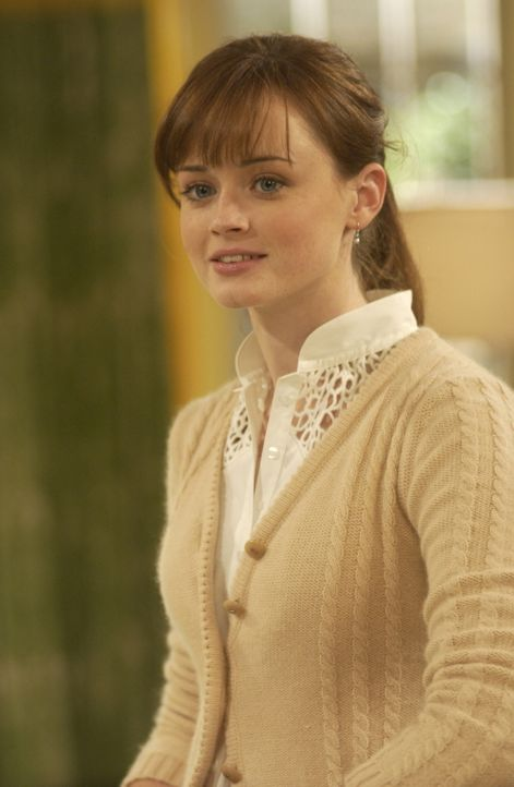 Rory (Alexis Bledel) ist mit der Planung der Spendengala für den Frauenverein so im Stress, dass sie die Beleidigungen der Huntzbergers fast vergess... - Bildquelle: Copyright Warner Brother International Television
