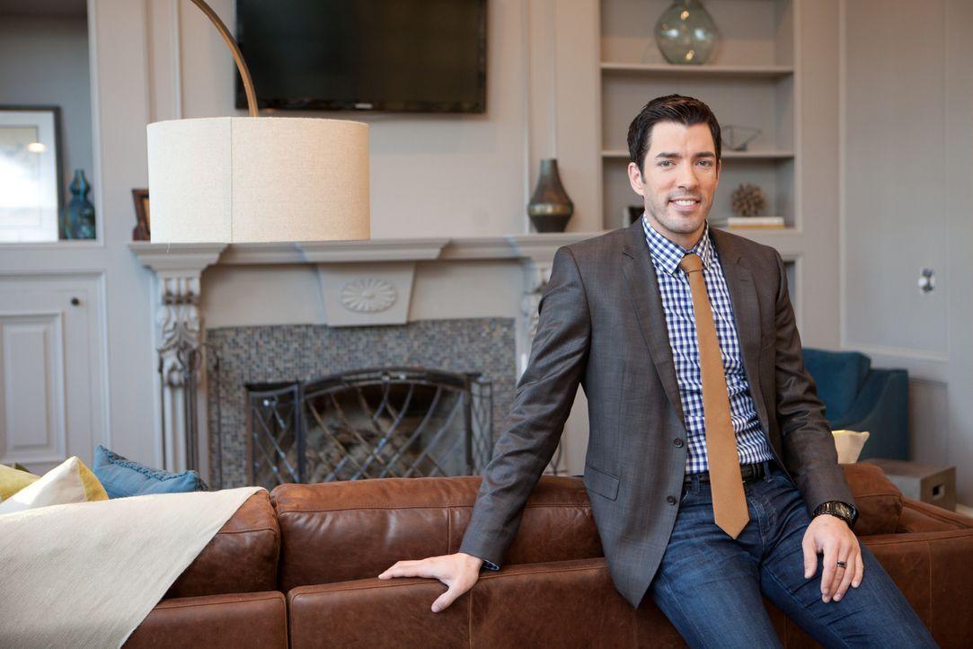 Auf der Suche nach einer bezahlbaren Immobilie, die das Potenzial für einen besonderen Palast hat: Drew ... - Bildquelle: Jessica McGowan 2013, HGTV/Scripps Networks, LLC. All Rights Reserved
