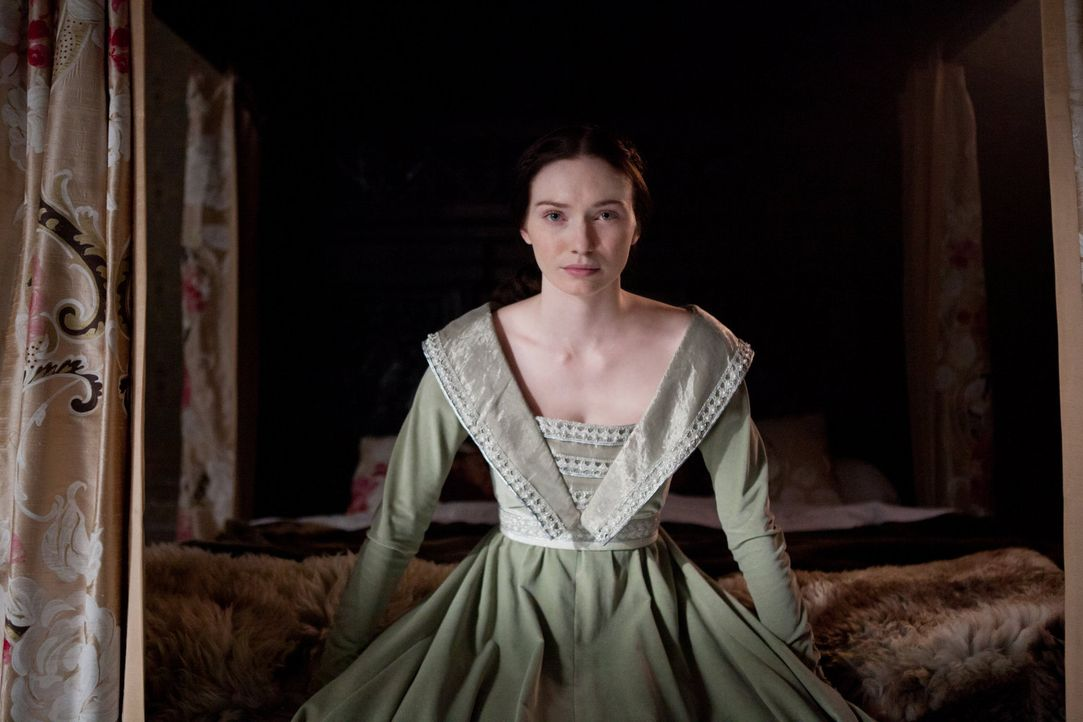 Macht sich Sorgen um ihren Vater, der in die Schlacht gegen König Edward IV gezogen ist: Isabel Neville (Eleanor Tomlinson) - Bildquelle: 2013 Starz Entertainment LLC, All rights reserved