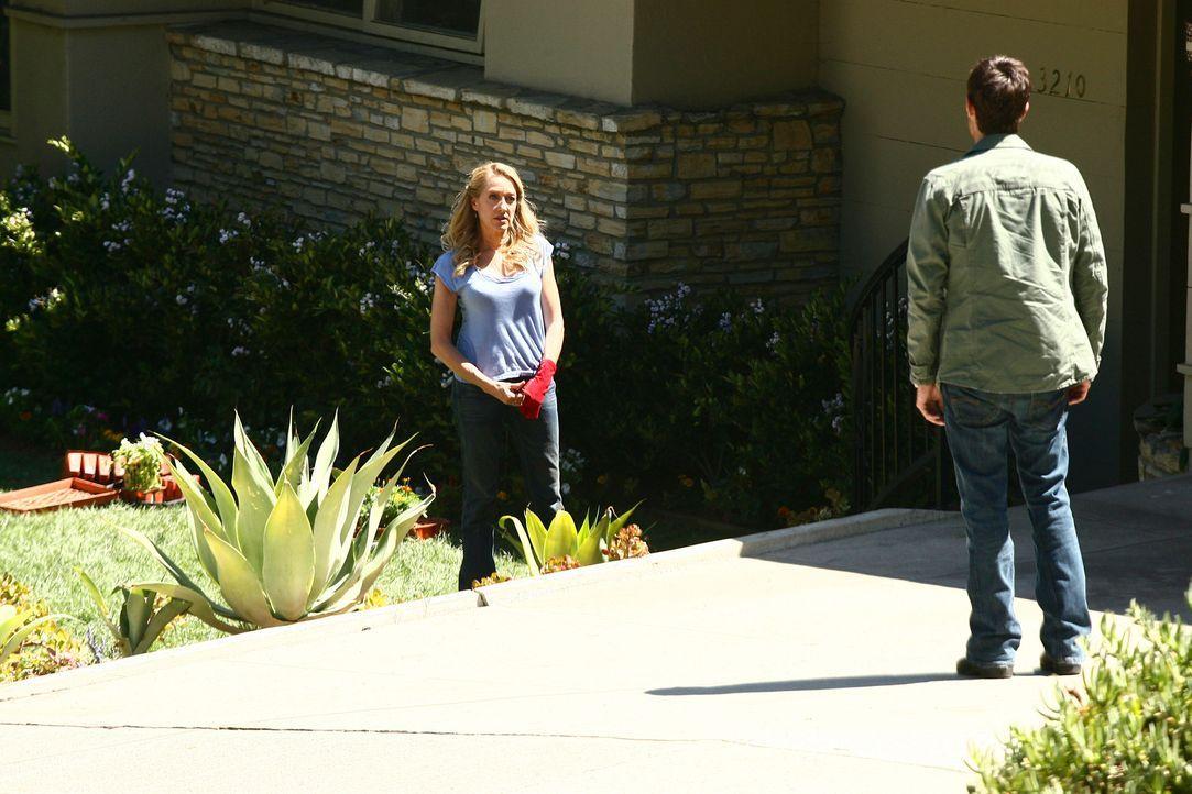 Justin (Dave Annable, r.) macht Holly Harper (Patricia Wettig, l.) ausfindig und konfrontiert sie mit seinen Vermutungen, dass sie und sein Vater ei... - Bildquelle: Disney - ABC International Television