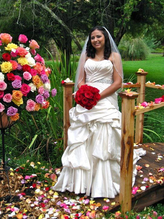 Auch Araceli möchte die perfekte Hochzeit feiern und die traumhafte Hochzeitsreise gewinnen ... - Bildquelle: Richard Vagg DCL