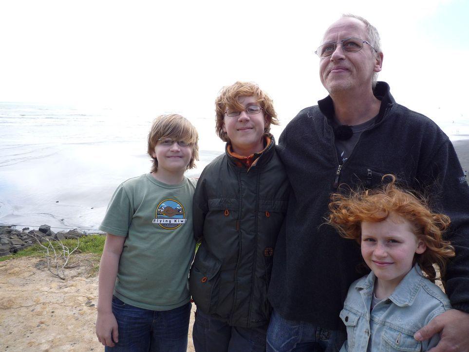In Deutschland sieht Zahntechnikermeister Florian Lerner (51) keine Zukunft mehr für sich und seine drei Kinder. Im familienfreundlichen Neuseeland... - Bildquelle: kabel eins