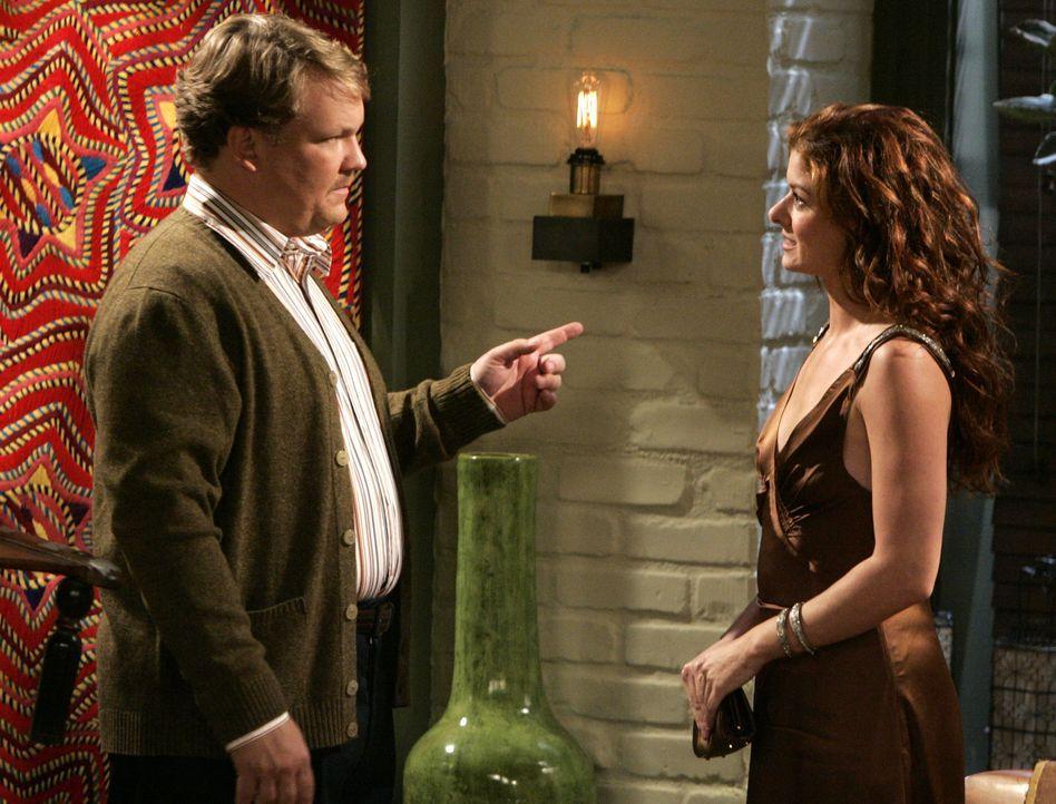 Karen hat Grace (Debra Messing, r.) ein Blind Date mit Dale (Andy Richter, l.), dem Klavierstimmer, verschafft - doch damit hat Grace nicht gerechne... - Bildquelle: NBC Productions