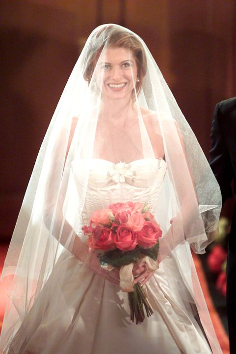 "Ist bereit Leo ""richtig"" zu heiraten: Grace (Debra Messing) ... - Bildquelle: NBC Productions"