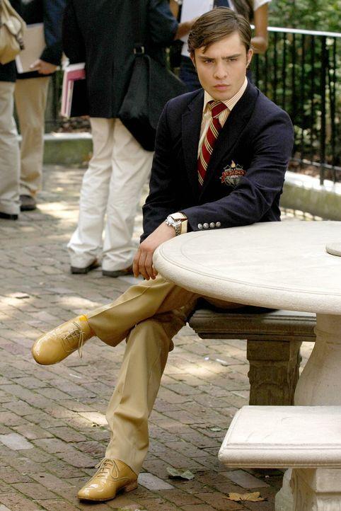 Die Schule geht wieder los und Chuck (Ed Westwick) hat immer noch nur eines im Sinn: Er will Blair zurückerobern! - Bildquelle: Warner Brothers