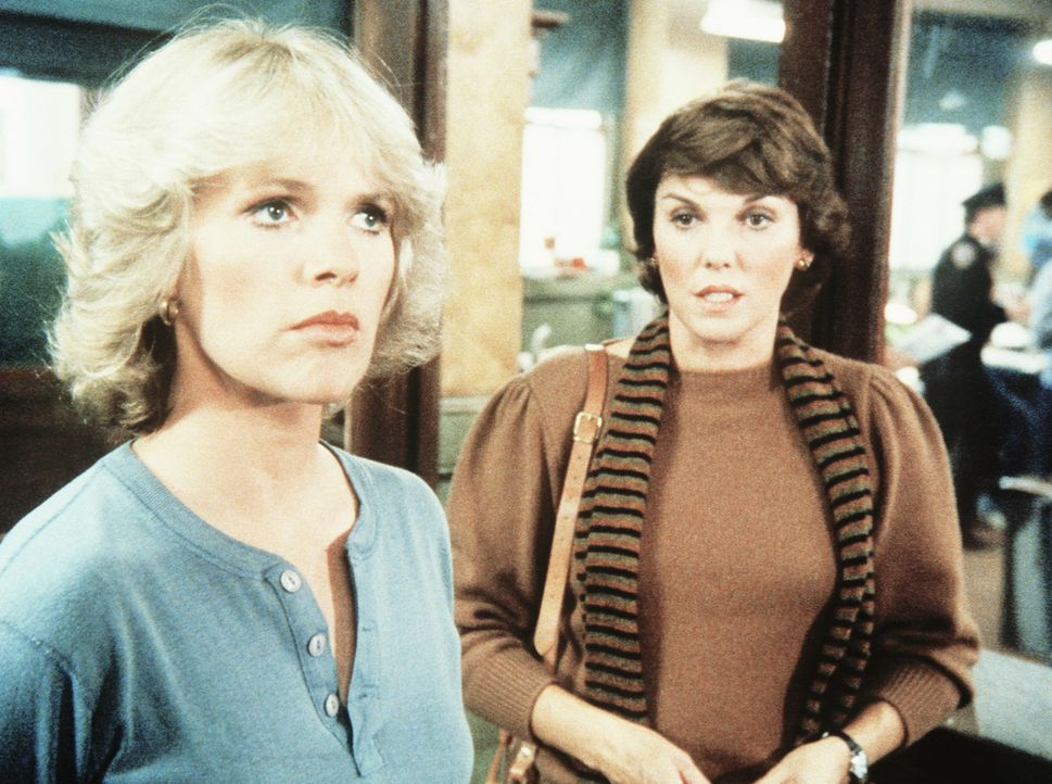 Cagney (Sharon Gless, l.) und Lacey (Tyne Daly) können sich nicht einigen. - Bildquelle: ORION PICTURES CORPORATION. ALL RIGHTS RESERVED.
