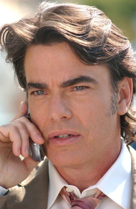 Sandy (Peter Gallagher) bekommt einen Anruf von Max, seinem alten Uniprofessor und Mentor. Dieser bittet ihn, seine Tochter Rebecca ausfindig zu mac... - Bildquelle: Warner Bros. Television