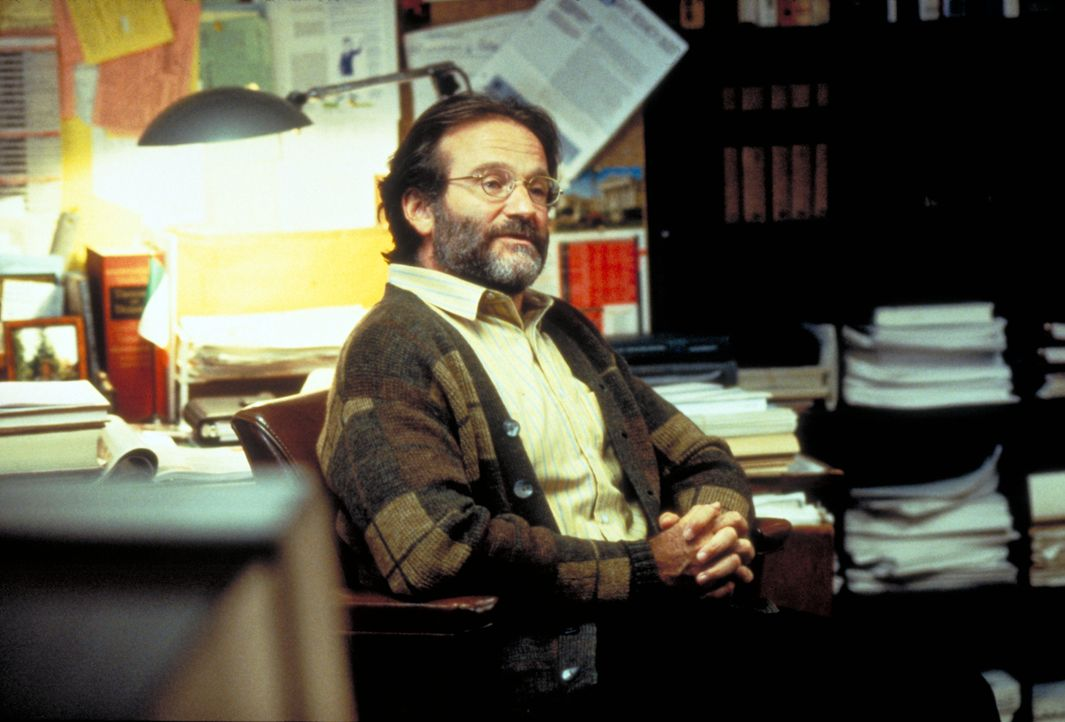 Sean McGuire (Robin Williams) - Bildquelle: Paramount Pictures and Miramax. All Rights Reserved.