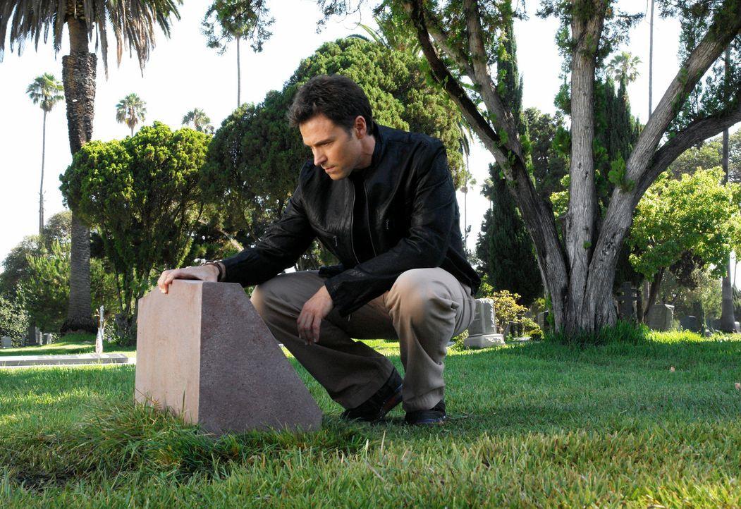 Pete (Tim Daly) besucht seine verstorbene Frau auf dem Friedhof und entschuldigt sich bei ihr dafür, dass er sie nicht retten konnte ... - Bildquelle: 2007 American Broadcasting Companies, Inc. All rights reserved.