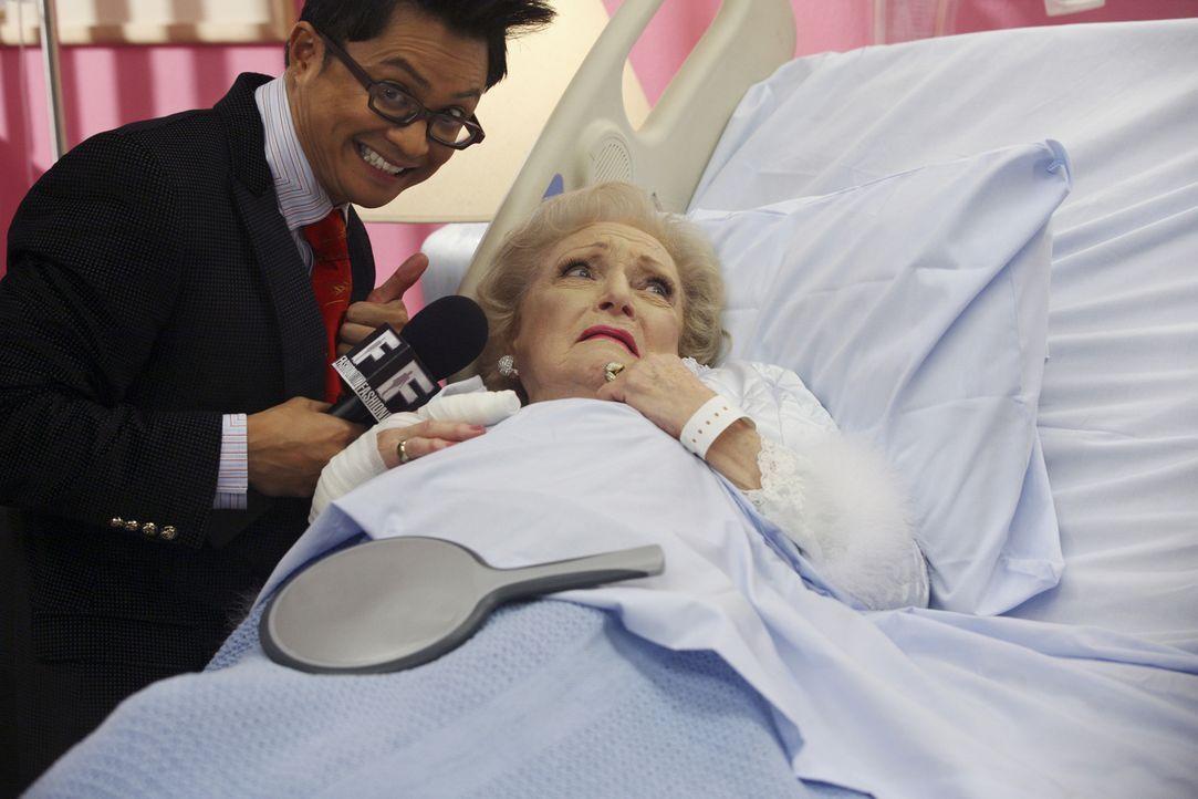Wilhelminas Versöhnungsgeste kommt bei Golden Girl Betty White (r.) ziemlich schlecht an ... - Bildquelle: Buena Vista International Television