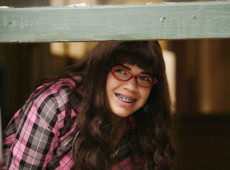Betty (America Ferrera) trifft eine wichtige Entscheidung darüber, was sie mit ihrem weiteren Leben machen möchte ... - Bildquelle: 2008   ABC Studios