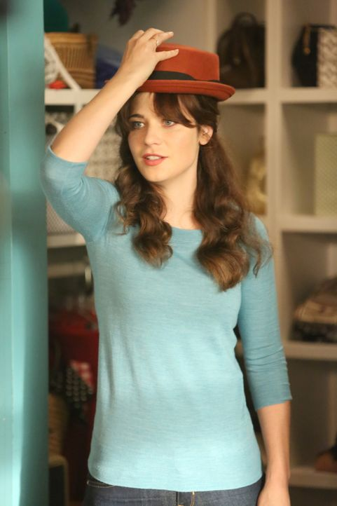 Eine Hintergrundüberprüfung, die Teil von Winstons Ausbildung ist, sorgt bei Jess (Zooey Deschanel) für einige Probleme ... - Bildquelle: 2014 Twentieth Century Fox Film Corporation. All rights reserved.