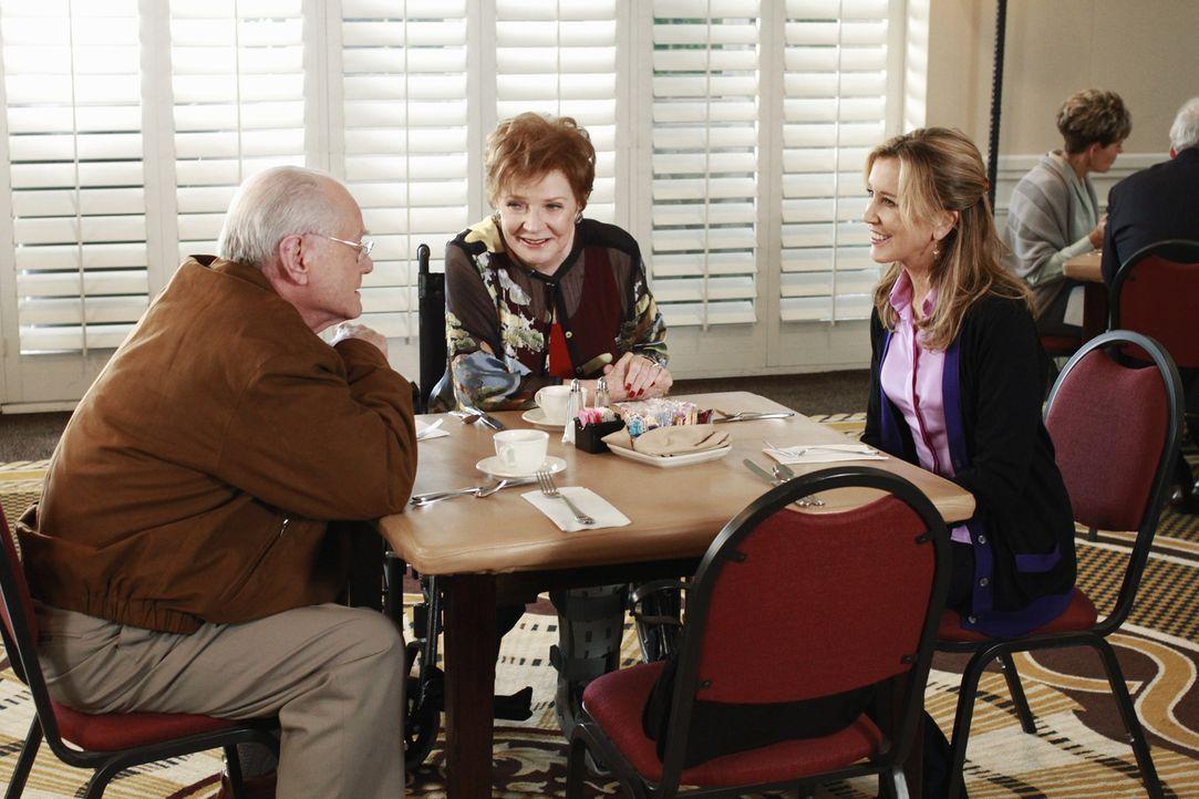 Keiths Ex-Freundin Amber erscheint auf der Bildfläche und hält eine große Überraschung bereit. Eine nicht weniger große Überraschung erhält auch Lyn... - Bildquelle: ABC Studios