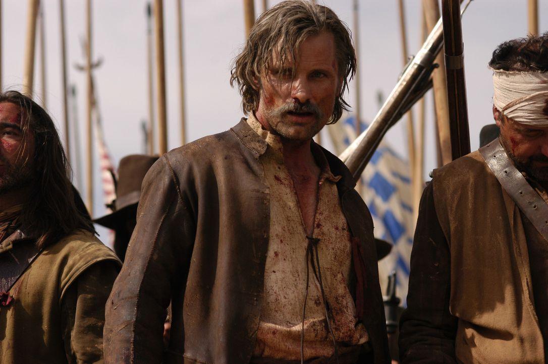 Ein Gemetzel ohnegleichen beginnt auf den Schlachtfeldern von Flandern: Alatriste (Viggo Mortensen) ... - Bildquelle: José Haro TF1 International
