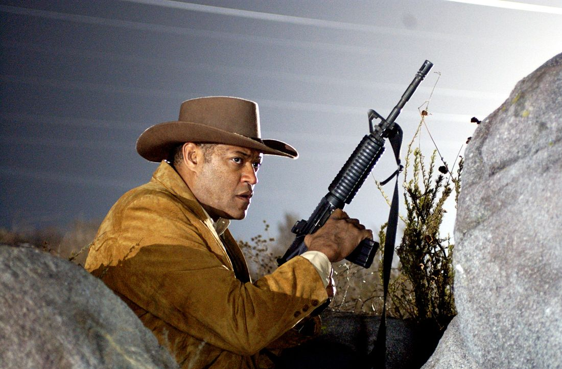 Um seinen Kollegen aus den Händen des Drogenbarons Don Huertero zu befreien, entwickelt Agent Tad Grusza (Lawrence Fishburne) einen skrupellosen Pl... - Bildquelle: Nu Image