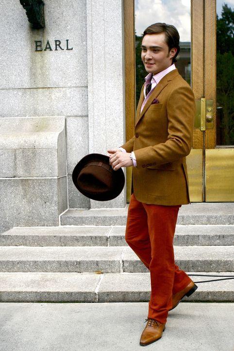 Die Ivy League-Tage stehen an und die Upper East Sider besuchen Harvard, Yale und Brown. Blair, Chuck (Ed Westwick), Nate, Dan und schließlich auch... - Bildquelle: Warner Brothers